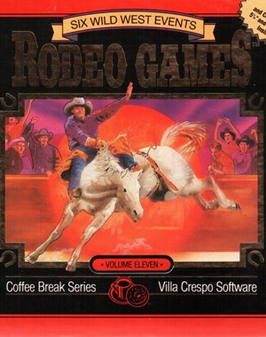 Buffalo Bill's Wild West Show DOS front cover