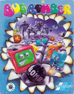 Bug Bomber DOS front cover