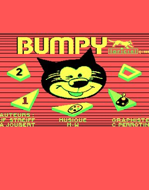 Bumpy DOS front cover