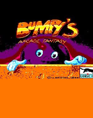 Bumpy's Arcade Fantasy DOS front cover
