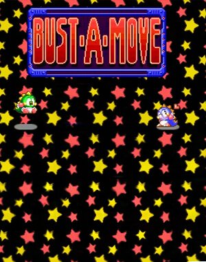 Bust-a-Move DOS front cover