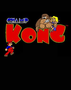 CHAMP Kong DOS front cover