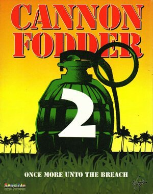 Cannon Fodder 2 DOS front cover