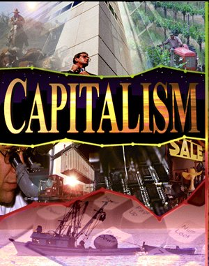 Capitalism DOS front cover