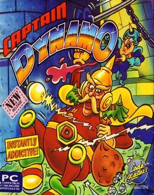 Captain Dynamo DOS front cover