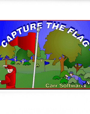 Capture the Flag DOS front cover