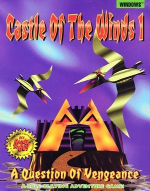 Castle of the Winds I: A Question of Vengeance DOS front cover