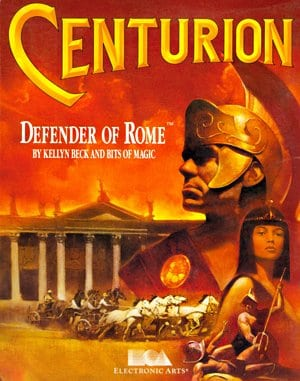 Centurion: Defender of Rome DOS front cover