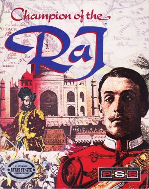 Champion of The Raj DOS front cover