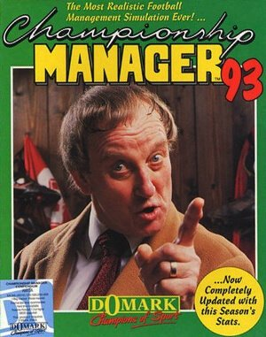 Championship Manager 93-94 DOS front cover