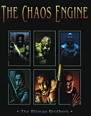 The Chaos Engine DOS front cover