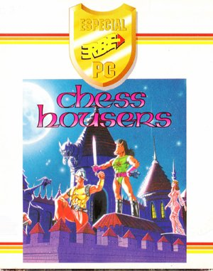 Chess Housers DOS front cover