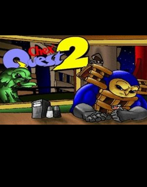 Chex Quest 2 DOS front cover