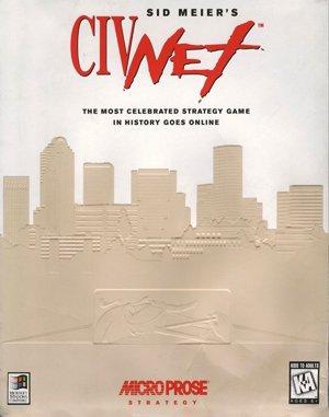 Sid Meier's CivNet DOS front cover