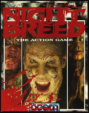 Clive Barker's Nightbreed: The Action Game DOS front cover