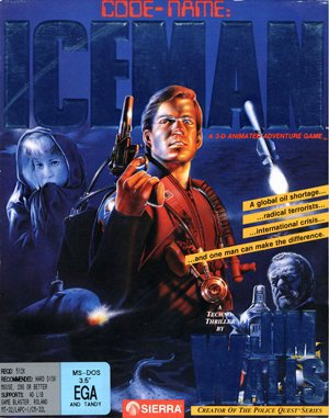 Codename: ICEMAN DOS front cover