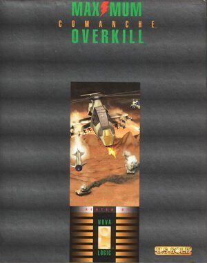 Comanche: Maximum Overkill DOS front cover