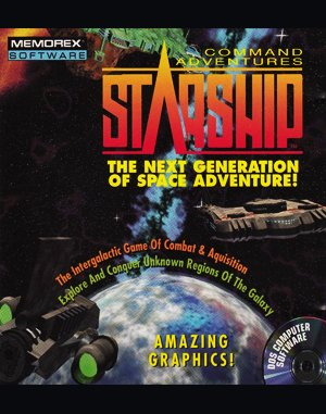 Command Adventures: Starship DOS front cover