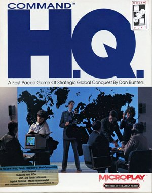 Command H.Q. DOS front cover