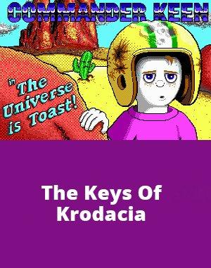 Commander Keen 7: The Keys Of Krodacia DOS front cover