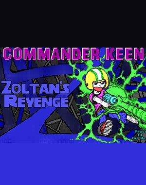 Commander Keen: Zoltan's Revenge DOS front cover