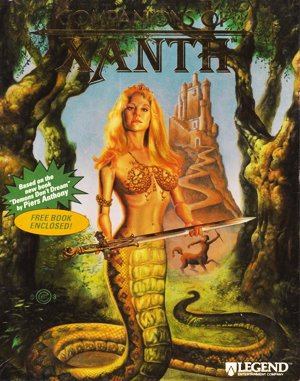 Companions of Xanth DOS front cover