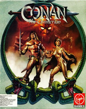 Conan: The Cimmerian DOS front cover