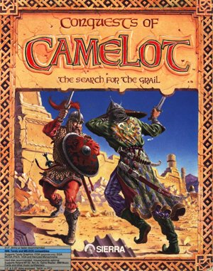 Conquests of Camelot: The Search for the Grail DOS front cover