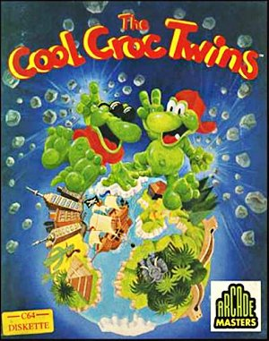 Cool Croc Twins DOS front cover