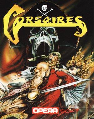 Corsarios DOS front cover