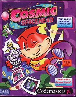 Cosmic Spacehead DOS front cover