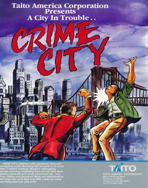 Crime City DOS front cover