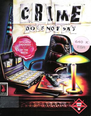 Crime Does Not Pay DOS front cover