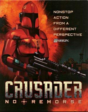 Crusader: No Remorse DOS front cover