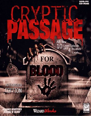 Cryptic Passage for Blood DOS front cover
