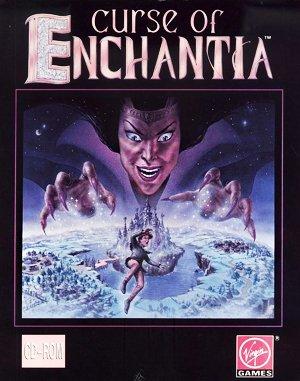 Curse of Enchantia DOS front cover
