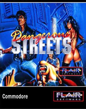Dangerous Streets DOS front cover