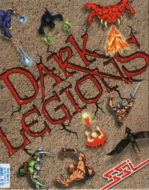Dark Legions DOS front cover