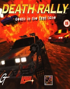 Death Rally DOS front cover