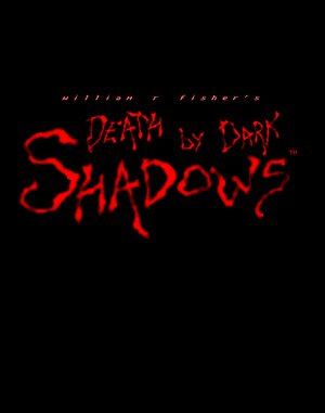 Death by Dark Shadows DOS front cover
