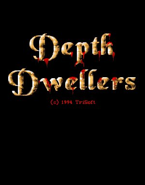 Depth Dwellers DOS front cover