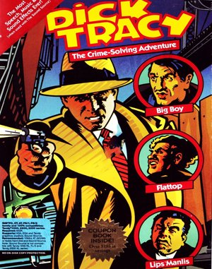 Dick Tracy DOS front cover