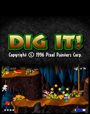Dig It! DOS front cover