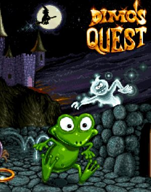 Dimo's Quest DOS front cover
