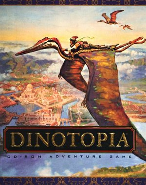 Dinotopia DOS front cover