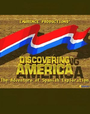 Discovering America DOS front cover