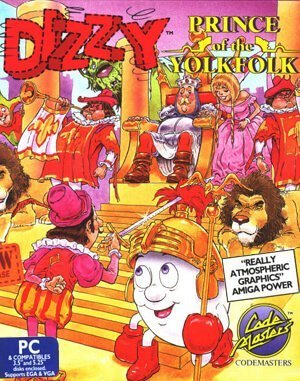 Dizzy: Prince Of The Yolkfolk DOS front cover