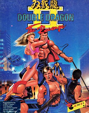 Double Dragon II: The Revenge DOS front cover