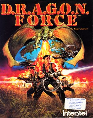 D.R.A.G.O.N. Force DOS front cover