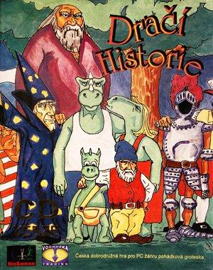 Dračí Historie DOS front cover